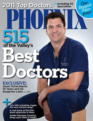 PHOENIX Magazine Top Docs-2011