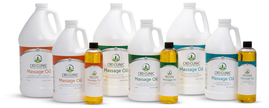 CBD Clinic Massage Therapy Oils