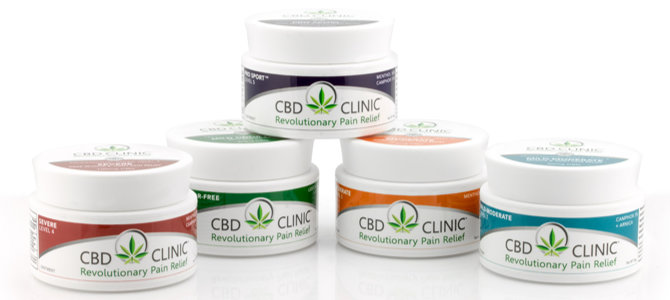 CBD Clinic Ointments